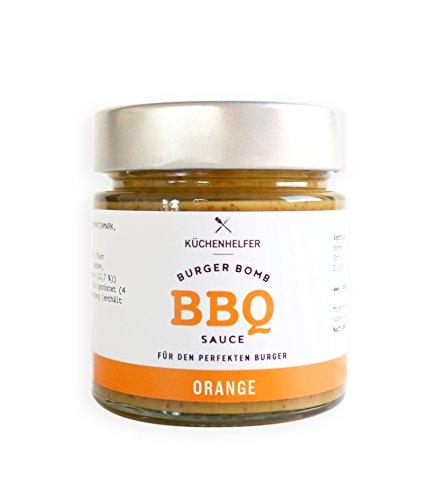 Küchenhelfer Burger Bomb BBQ-Sauce Orange, 2er Pack (2 x 190 ml)