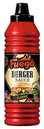 Fuego Burger-Sauce, 4er Pack (4 x 290 ml)