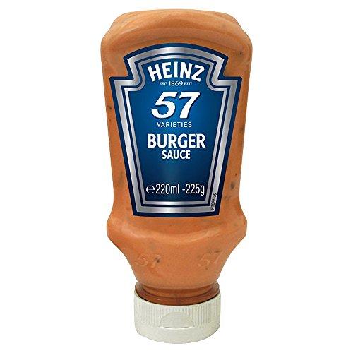 Heinz 57 Varieties Burger Sauce 225g – traditionelle 57 Burger Sauce