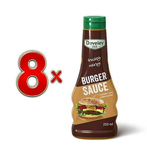 Develey fruchtig würzige Burger Sauce, 8er VPE (8x250ml)