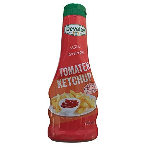 Develey voll tomatiger Tomaten Ketchup (250ml Flasche)