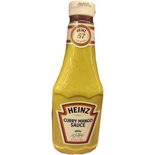 Heinz Gewürz-Sauce 57 Curry Mango Sauce 875ml Flasche