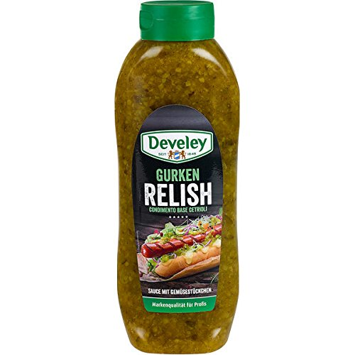 Develey Gurken Relish, 1er Pack (1 x 953 g)