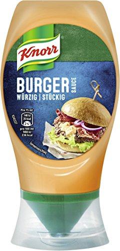 Knorr Grillsauce Burger Soße 250 ml (8 x 258 g)
