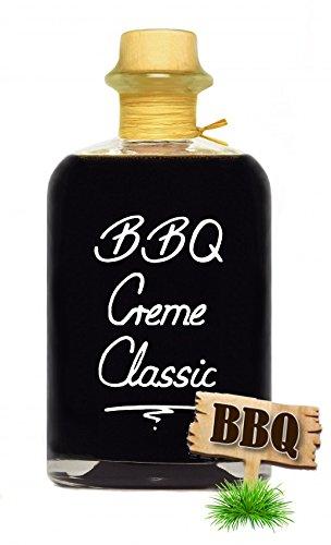 Premium BBQ Creme Classic 0,5L würzige Grillsauce Sauce zum Grillen Smokern Burgersauce